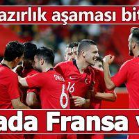 Hazırlık bitti şimdi elemeler   Türkiye 2-0 Özbekistan