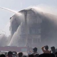 Hindistan'da yangın faciası: 20 ölü