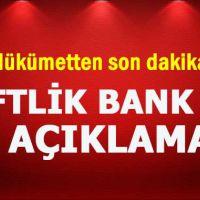 Hükümetten Çiftlik Bank ve af açıklaması