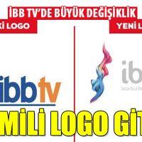 İBB TV'nin logosunun değiştirilmesi