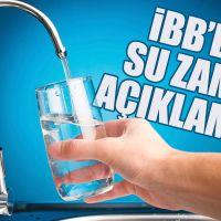 İBB'den su zammı için açıklama