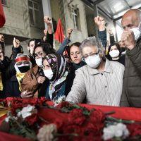 İbrahim Gökçek'in cenaze törenine polis müdahalesi