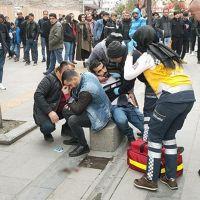 İki kayınbiraderini sokak ortasında yaraladı
