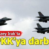 Irak'ın kuzeyindeki PKK kamplarına operasyon düzenlendi