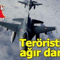 Irak'ın kuzeyine hava harekatı! 7 PKK'lı öldürüldü