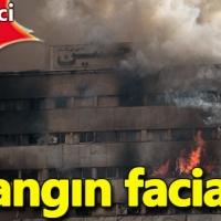 İran'da yangın felaketi: 30 itfaiyeci öldü