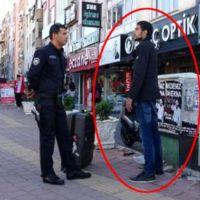 İranlı turist şaşırttı! Saatlerce kıpırdamadı