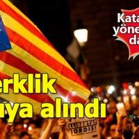 İspanya'da merkezi yönetim Katalan hükümetini feshetti