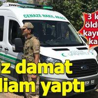 İşsiz damat dehşeti, eşini öldürdü kızını kaçırdı - Gaziantep haberleri