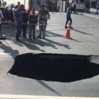 İstanbul Dolmabahçe'de, Vodafone Park yolu çöktü Alternatif yollar