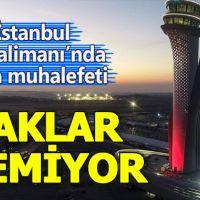 İstanbul Havalimanı'nda uçaklar inemiyor