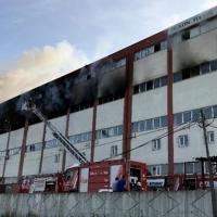 İstanbul'da mobilya atölyesi kül oldu