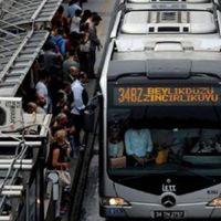 İstanbul'da toplu taşıma yolcu sayısı Çin nüfusunu aştı