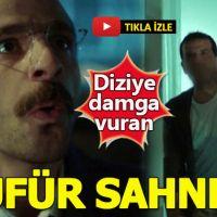 İstanbullu Gelin'deki küfür sahnesi televizyon tarihine geçti