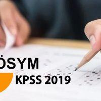 KPSS 2019 ne zaman açıklanacak | KPSS sonuçları ne zaman açıklanacak?
