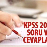 KPSS 2019 soru cevapları | KPSS soruları ne zaman yayınlanır | KPSS cevapları ne zaman açıklanacak?