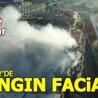 Kadıköy'de yangın faciası: 2 ölü, 4 yaralı