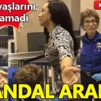 Güvenlik görevlisi kadın muhabirin cinsel organına dokundu