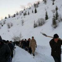 Kahramanmaraş'ta çığ düştü: 1 ölü