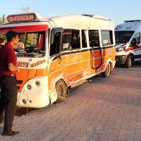 Kahramanmaraş'ta feci kaza: 15 yaralı