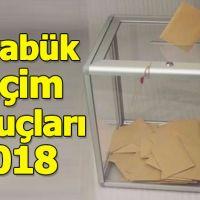 Karabük seçim sonuçları 2018 - 24 Haziran oy oranları