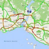 Karne yoğunluğu İstanbul trafiğini kilitledi