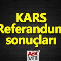 Kars ilçe referandum sonuçları evet mi hayır mı çıktı YSK