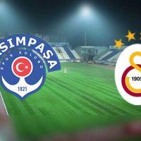 Kasımpaşa - Galatsaray maçı hangi kanalda? Kasımpaşa - Galatasaray maçını canlı izleme