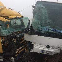 Kastamonu'da korkunç kaza! 5 yaralı