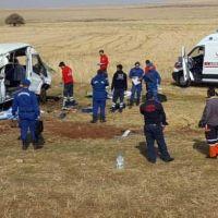 Kayseri'de feci kaza: 2 ölü, 21 yaralı