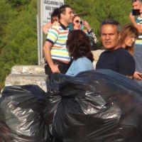Kenti terk eden tatilaciler Muğla'yı çöplüğe çevirdi