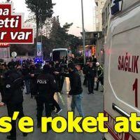 Kilis'te yerleşim alanına roket düştü! Yaralılar var