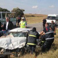 Kırklareli'nde katliam gibi trafik kazası!