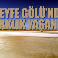 Kırşehir'deki Seyfe Gölü kuraklığı yaşıyor