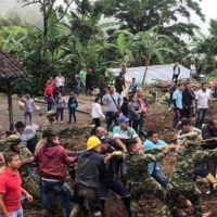 Kolombiya'da toprak kayması: En az 17 ölü