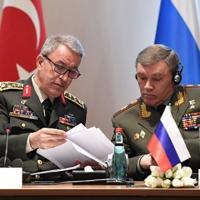Komutanlardan Soçi'de kritik zirve