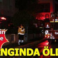 Konya Eski Valisinin eşi ve kızı yangında hayatını kaybetti