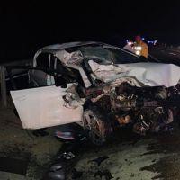 Konya'da feci kaza: 2 ölü, 1 yaralı