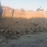 Konya'da toprak kayması