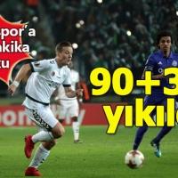 Konyaspor'a son dakika şoku (Konyaspor 1-1 Marsilya maçın özeti ve golleri)