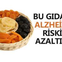 Kuru meyveler Alzheimer'ın panzehiri oluyor