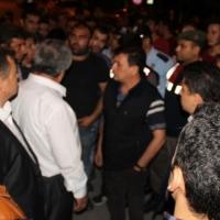 Kütahya'da vatandaşlar PKK propagandası yapan işçileri linç etmek istedi