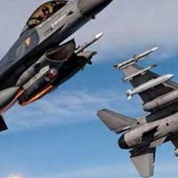 Kuzey Irak'a hava harekatı: 4 terörist öldürüldü