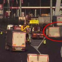 Kuzey Marmara yolunda trafiği kilitleyen kaza!