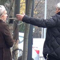 Lucescu, eşini sokak ortasında azarladı