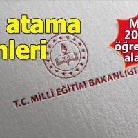 MEB 20 bin sözleşmeli öğretmen atayacağı tarihi duyurdu