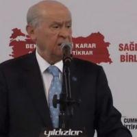 MHP Genel Başkanı Bahçeli Eskişehir'de konuştu