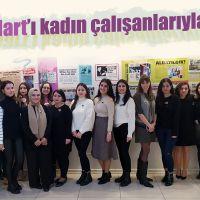 MTM 8 Mart'ı kadın çalışanlarıyla kutladı