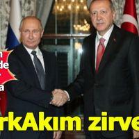Mabeyn Köşkü'nde Erdoğan ve Putin bir araya geldi