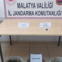 Malatya'da uyuşturucu baskını: 1 tutuklama